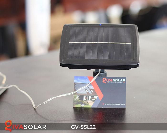 Đèn LED dây năng lượng mặt trời đa sắc SSL22 18
