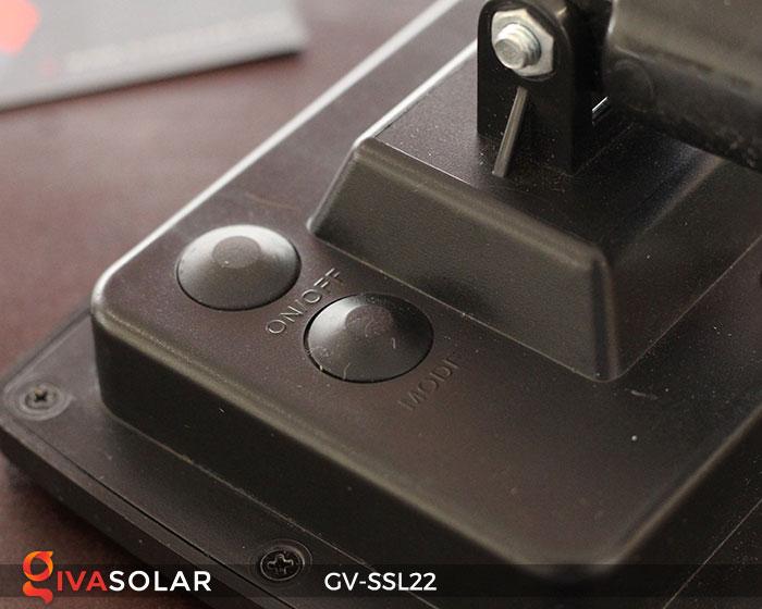 Đèn LED dây năng lượng mặt trời đa sắc SSL22 20