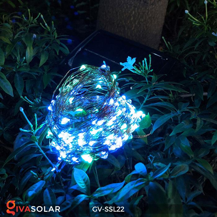 Đèn LED dây năng lượng mặt trời đa sắc SSL22 4