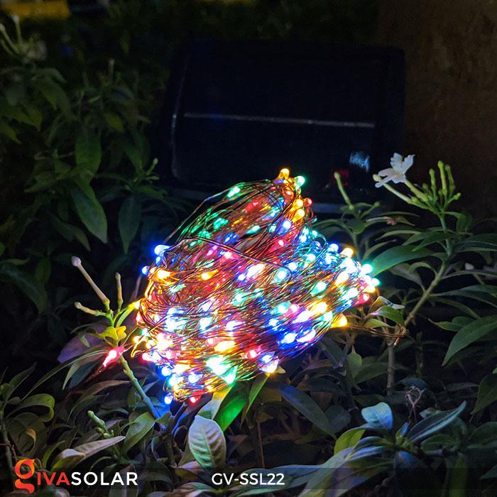 Đèn LED dây năng lượng mặt trời đa sắc SSL22 5