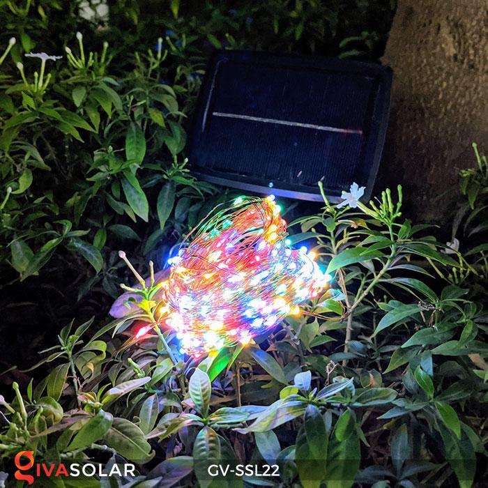 Đèn LED dây năng lượng mặt trời đa sắc SSL22 6