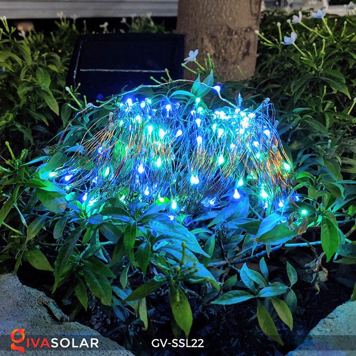 Đèn LED dây năng lượng mặt trời đa sắc SSL22 7
