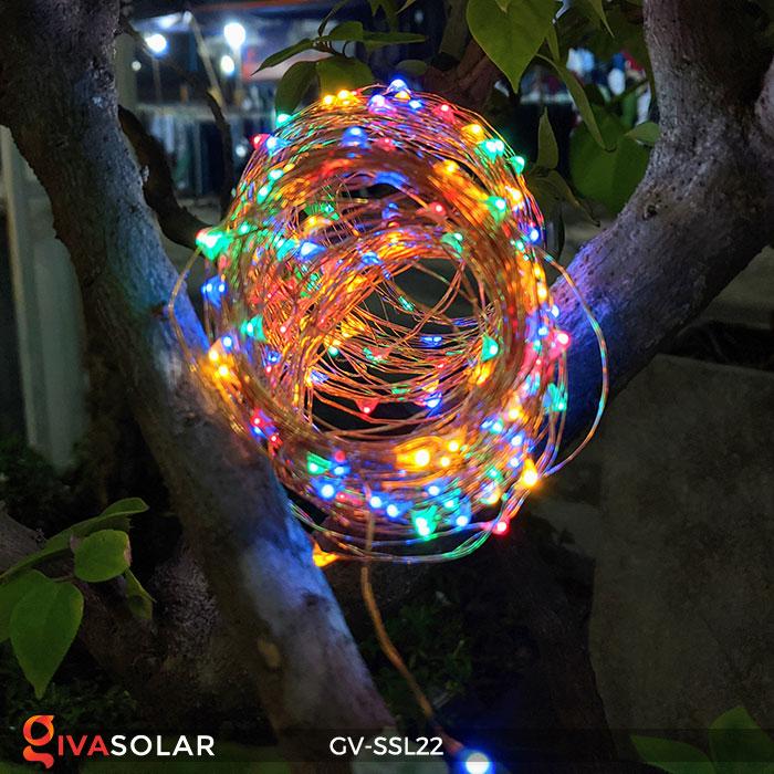Đèn LED dây năng lượng mặt trời đa sắc SSL22 9