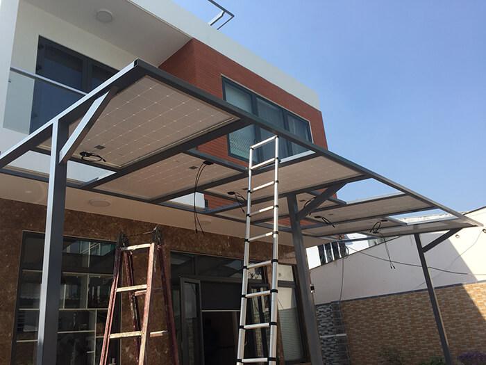 Hoàn thành dự án điện năng lượng mặt trời hòa lưới 5kW tại Hóc Môn 2