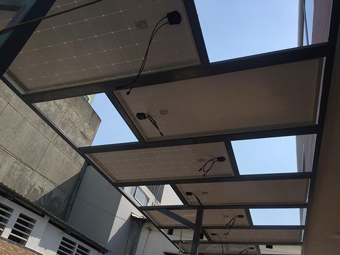 Hoàn thành dự án điện năng lượng mặt trời hòa lưới 5kW tại Hóc Môn 3