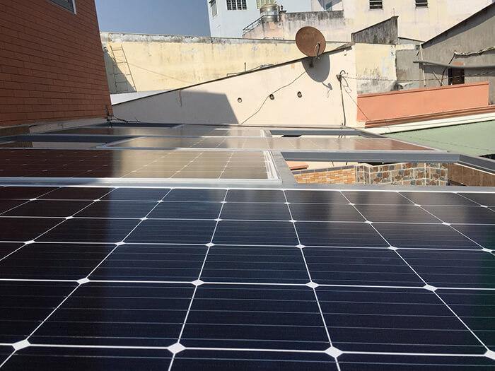 Hoàn thành dự án điện năng lượng mặt trời hòa lưới 5kW tại Hóc Môn 5