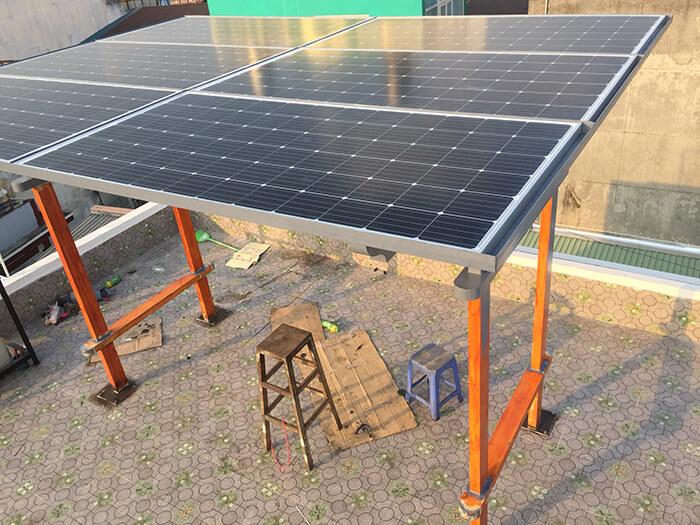 Hoàn thành dự án điện năng lượng mặt trời hòa lưới 5kW tại Hóc Môn 7
