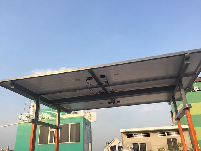 Hoàn thành dự án điện năng lượng mặt trời hòa lưới 5kW tại Hóc Môn 8