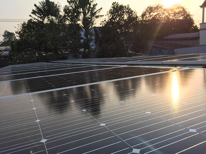 Hoàn tất hệ thống điện năng lượng mặt trời 10kW cho gia đình ở Củ Chi 4