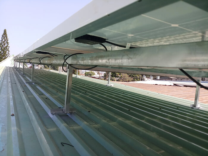 Hoàn tất hệ thống điện năng lượng mặt trời 10kW cho gia đình ở Củ Chi 7