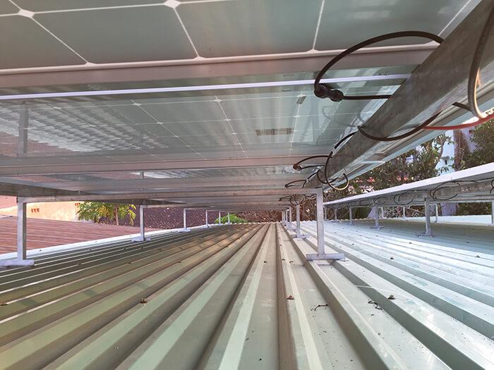 Hoàn tất hệ thống điện năng lượng mặt trời 10kW cho gia đình ở Củ Chi 8