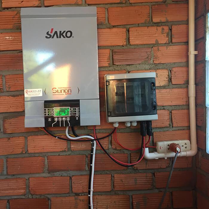 Hoàn tất lắp đặt năng lượng mặt trời độc lập 3kW tại Đồng Nai 11