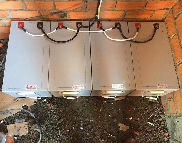 Hoàn tất lắp đặt năng lượng mặt trời độc lập 3kW tại Đồng Nai 12