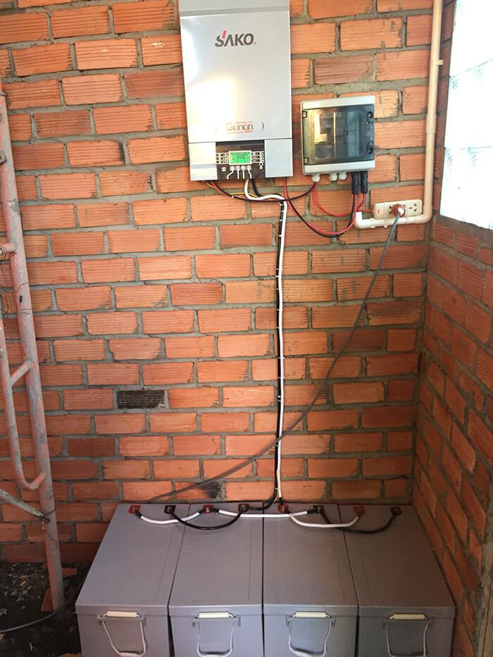 Hoàn tất lắp đặt năng lượng mặt trời độc lập 3kW tại Đồng Nai 13