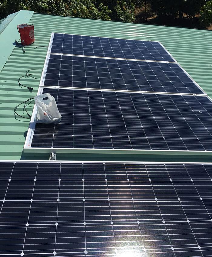 Hoàn tất lắp đặt năng lượng mặt trời độc lập 3kW tại Đồng Nai 4