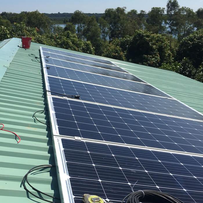 Hoàn tất lắp đặt năng lượng mặt trời độc lập 3kW tại Đồng Nai 5