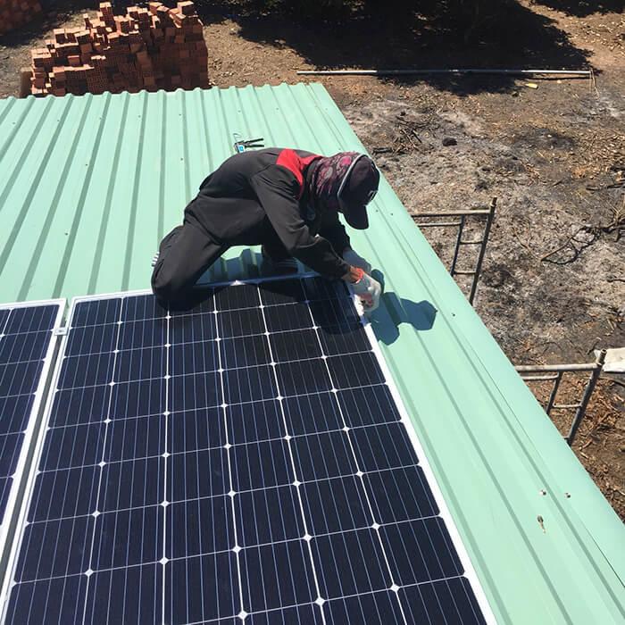 Hoàn tất lắp đặt năng lượng mặt trời độc lập 3kW tại Đồng Nai 6