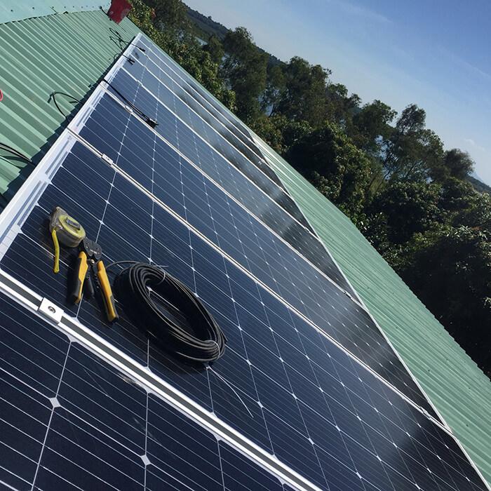 Hoàn tất lắp đặt năng lượng mặt trời độc lập 3kW tại Đồng Nai 7