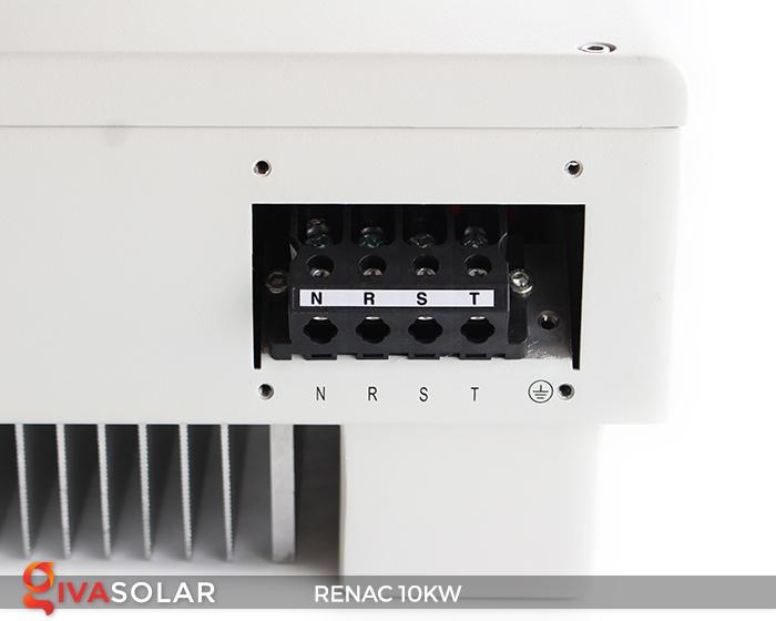 Inverter hòa lưới dùng cho hệ thống điện mặt trời 10kW 3 pha RENAC (NAC10K-DT) 11