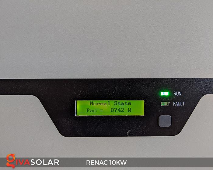 Inverter hòa lưới dùng cho hệ thống điện mặt trời 10kW 3 pha RENAC (NAC10K-DT) 16