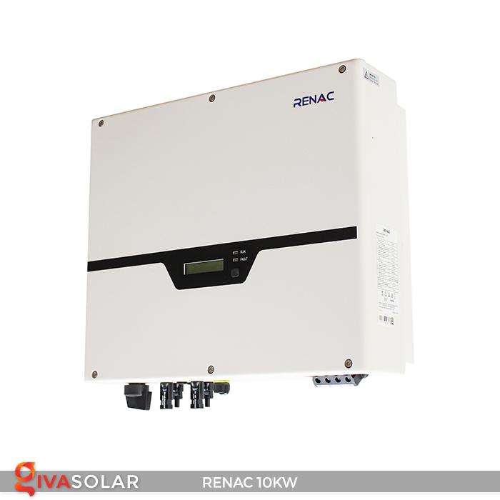 Inverter hòa lưới dùng cho hệ thống điện mặt trời 10kW 3 pha RENAC (NAC10K-DT) 2