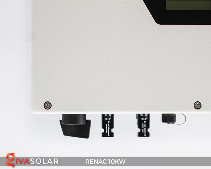 Inverter hòa lưới dùng cho hệ thống điện mặt trời 10kW 3 pha RENAC (NAC10K-DT) 4