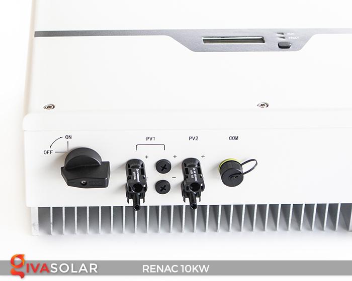 Inverter hòa lưới dùng cho hệ thống điện mặt trời 10kW 3 pha RENAC (NAC10K-DT) 8