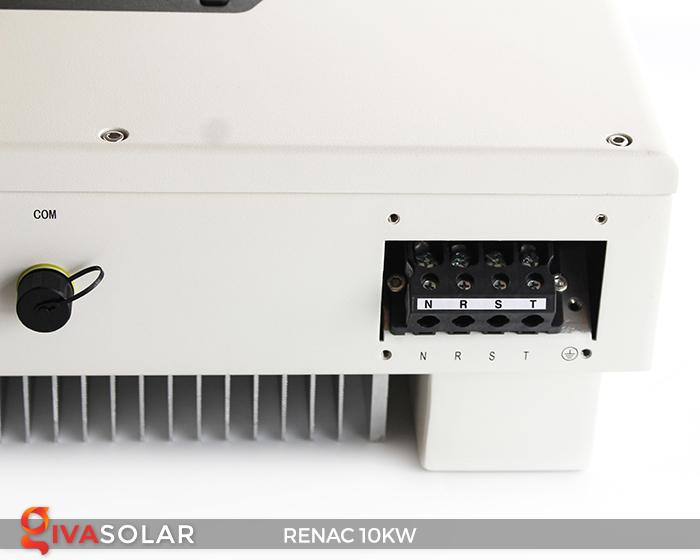 Inverter hòa lưới dùng cho hệ thống điện mặt trời 10kW 3 pha RENAC (NAC10K-DT) 9
