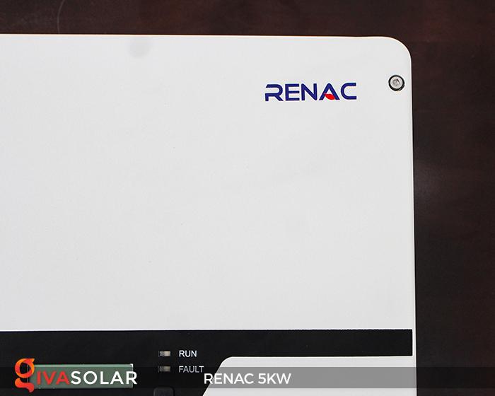 Bộ inverter hòa lưới điện năng lượng mặt trời 1 pha RENAC NAC5K-DS 5kW 13