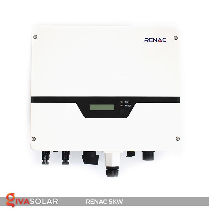 Bộ inverter hòa lưới điện năng lượng mặt trời 1 pha RENAC NAC5K-DS 5kW 14