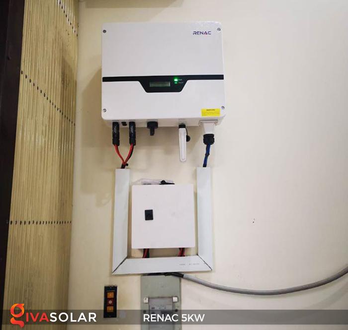Bộ inverter hòa lưới điện năng lượng mặt trời 1 pha RENAC NAC5K-DS 5kW 2