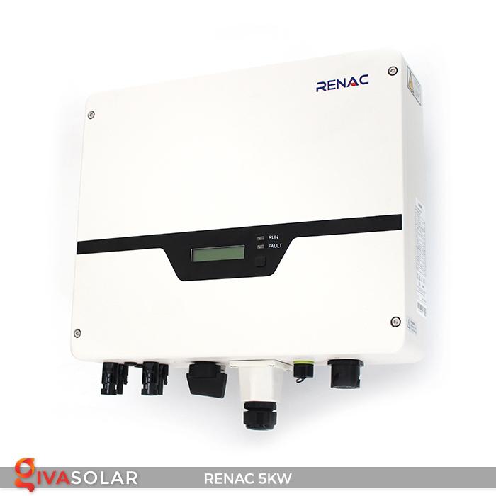 Bộ inverter hòa lưới điện năng lượng mặt trời 1 pha RENAC NAC5K-DS 5kW 21