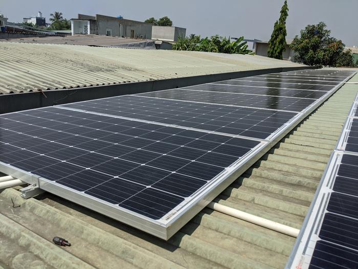 Lắp đặt hoàn tất hệ điện năng lượng mặt trời hòa lưới 10kW tại Bình Chánh 10