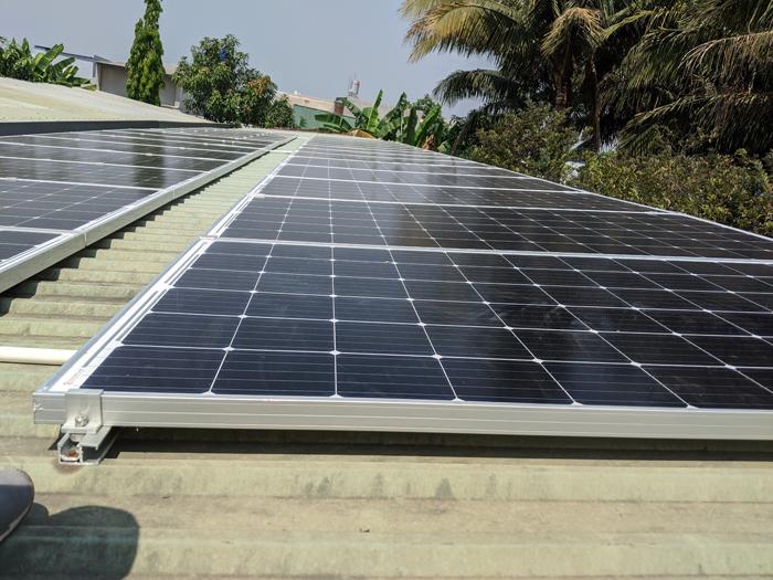 Lắp đặt hoàn tất hệ điện năng lượng mặt trời hòa lưới 10kW tại Bình Chánh 11