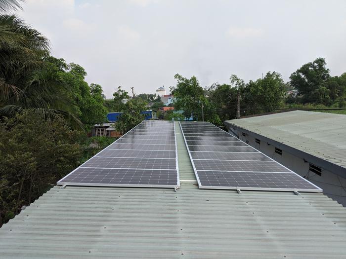 Lắp đặt hoàn tất hệ điện năng lượng mặt trời hòa lưới 10kW tại Bình Chánh 16