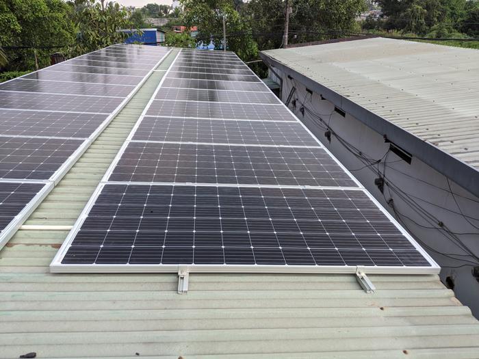 Lắp đặt hoàn tất hệ điện năng lượng mặt trời hòa lưới 10kW tại Bình Chánh 17