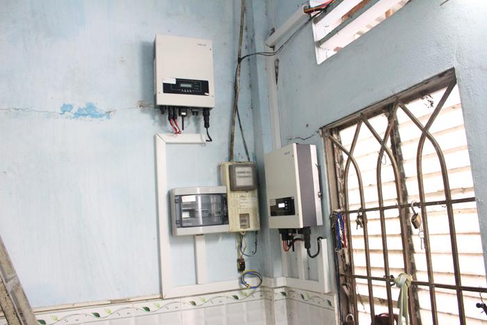 Lắp đặt hoàn tất hệ điện năng lượng mặt trời hòa lưới 10kW tại Bình Chánh 21