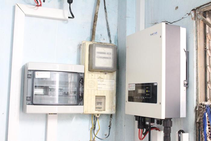 Lắp đặt hoàn tất hệ điện năng lượng mặt trời hòa lưới 10kW tại Bình Chánh 23