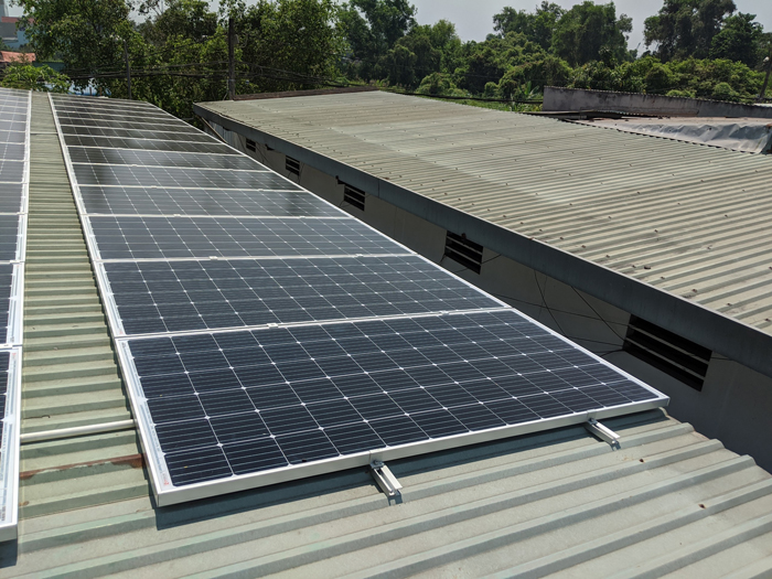 Lắp đặt hoàn tất hệ điện năng lượng mặt trời hòa lưới 10kW tại Bình Chánh 5