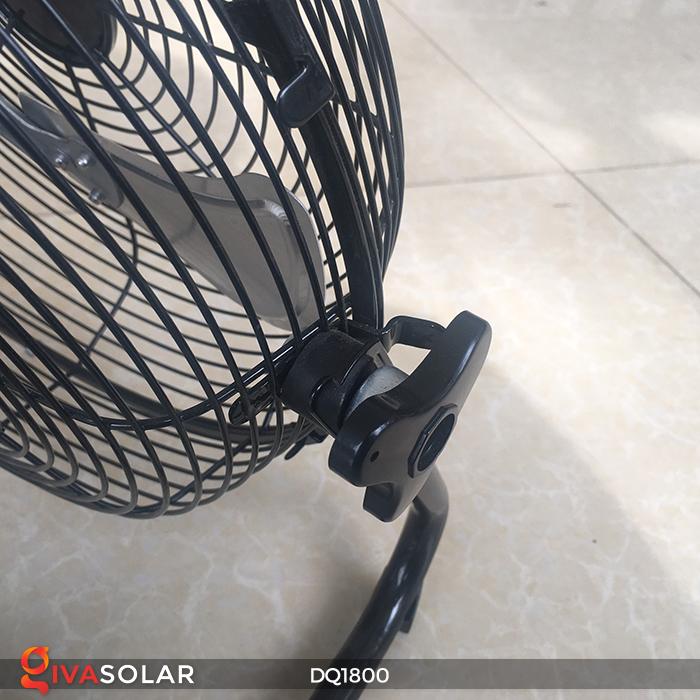Quạt năng lượng mặt trời tiện lợi DQ1800 15