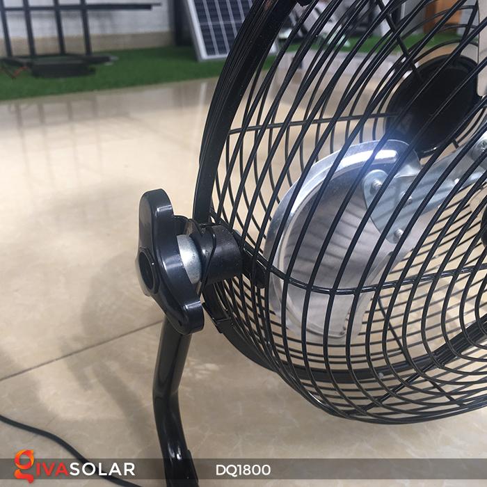 Quạt năng lượng mặt trời tiện lợi DQ1800 16