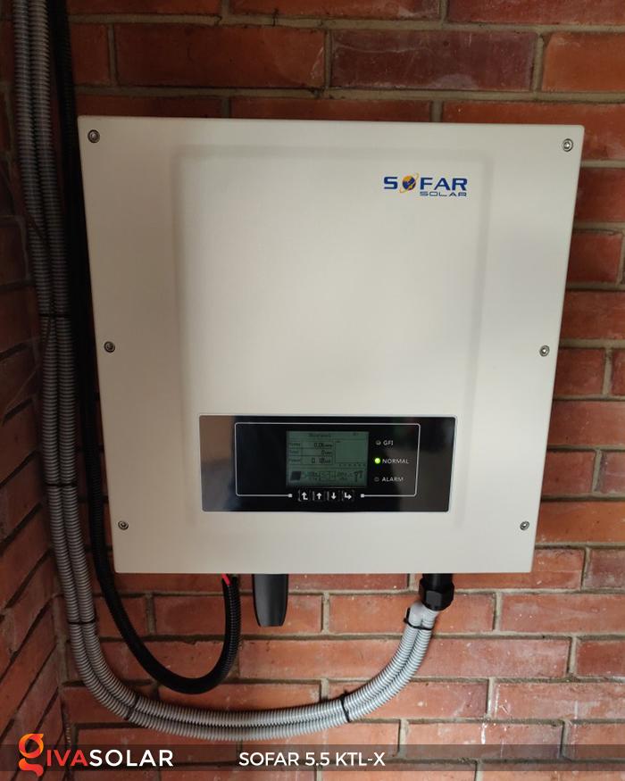 Inverter năng lượng mặt trời hòa lưới SOFAR 5.5KTL-X 15