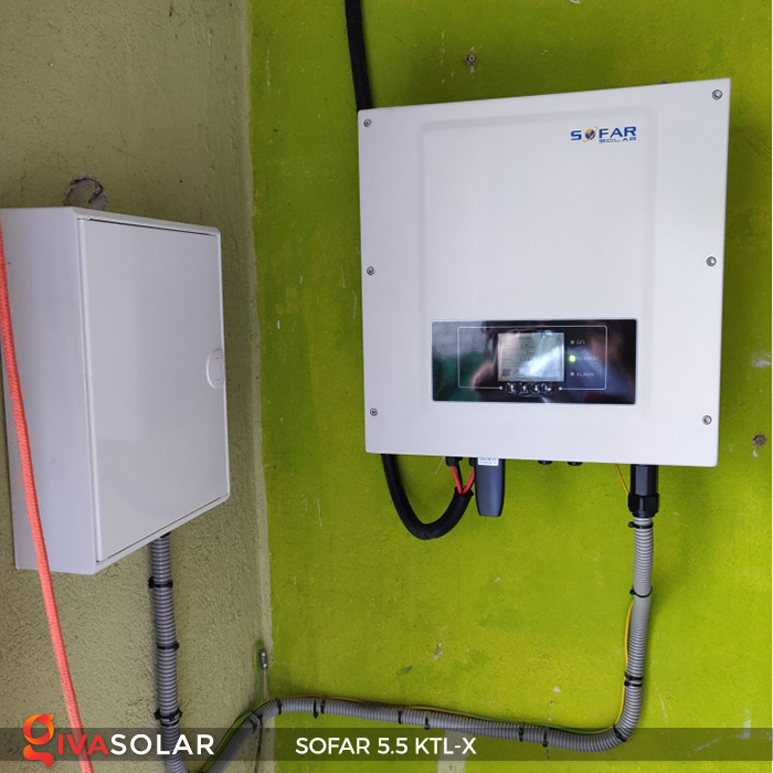 Inverter năng lượng mặt trời hòa lưới SOFAR 5.5KTL-X 16