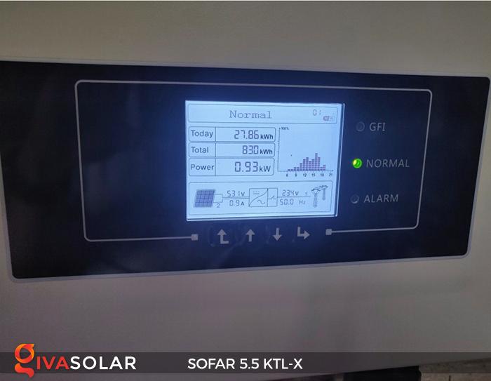Inverter năng lượng mặt trời hòa lưới SOFAR 5.5KTL-X 17