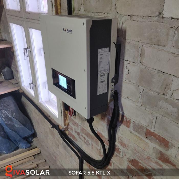 Inverter năng lượng mặt trời hòa lưới SOFAR 5.5KTL-X 18