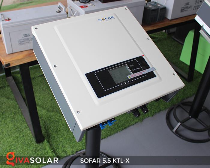 Inverter năng lượng mặt trời hòa lưới SOFAR 5.5KTL-X 6