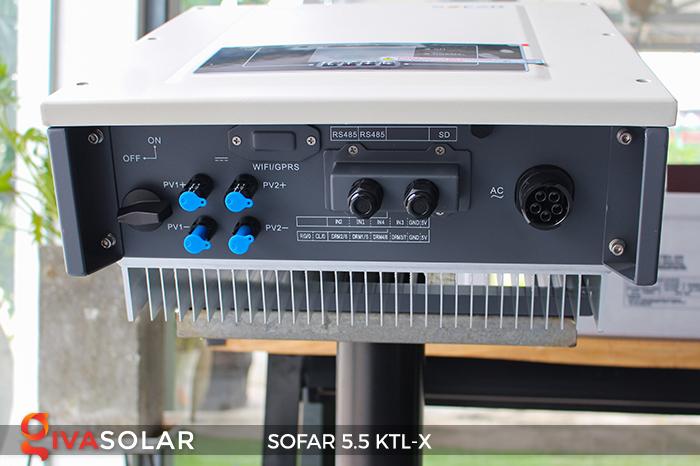 Inverter năng lượng mặt trời hòa lưới SOFAR 5.5KTL-X 8