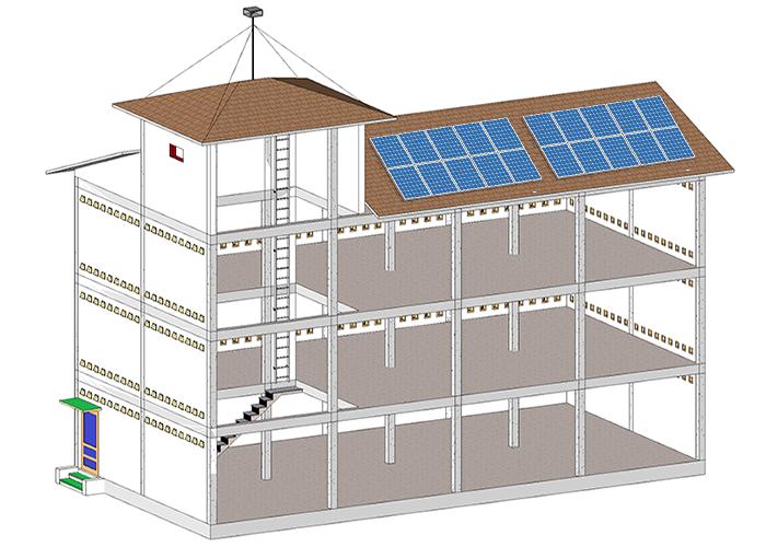 Hệ thống điện năng lượng mặt trời cho nhà nuôi yến 3