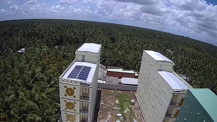 Hệ thống điện năng lượng mặt trời cho nhà nuôi yến 2