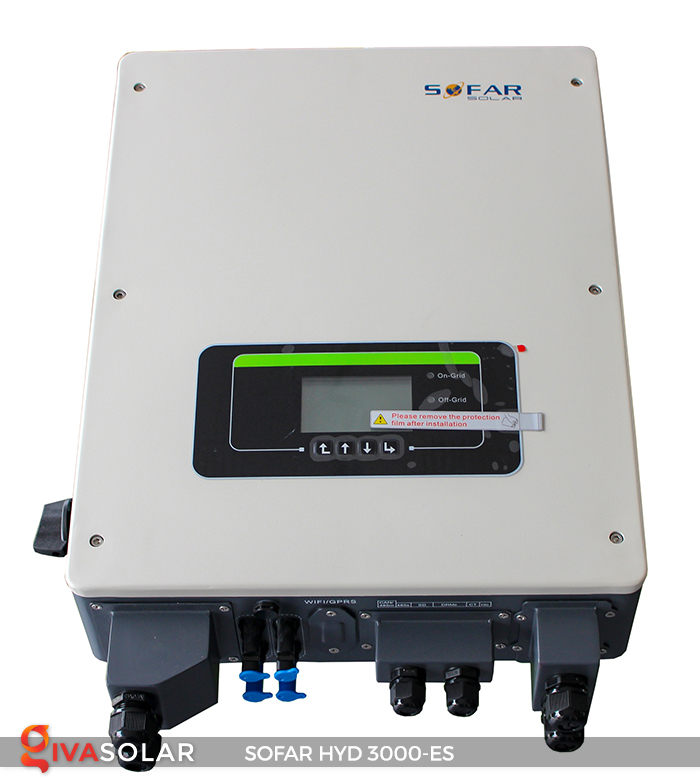 Hybrid inverter năng lượng mặt trời HYD 3000-ES 1